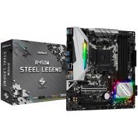 Серверна материнська плата AMD B450M STEEL LEGEND Diawest