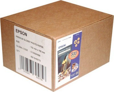 Бумага для принтера/копира Epson 10х15 Premium Glossy Photo (C13S041826) Diawest