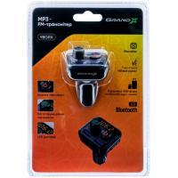 FM модулятор Grand-X 98GRX MegaBass, Bluetooth V5.0 MicroSD, 2USB , MegaBass, han (98GRX) Diawest
