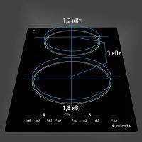 Варильна поверхня MINOLA MVH 3042 GBL Diawest