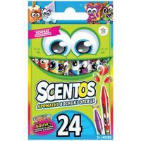 Карандаши цветные Scentos 40280 Diawest