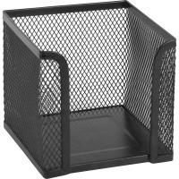 Підставка-куб для листів і паперів Axent 100х100x100мм, wire mesh, black (2112-01-A)