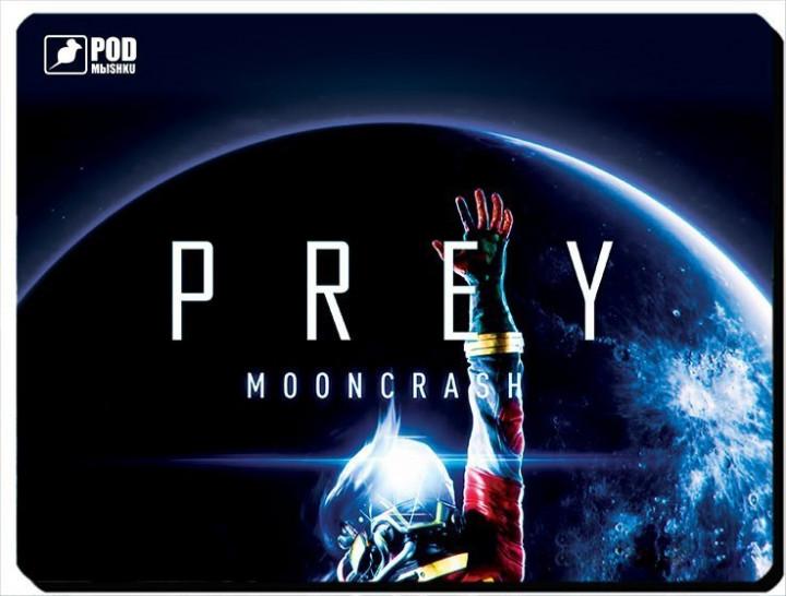 Коврик под мыш Podmyshku PREY MOONCRASH, игровой , ткань  260 х195мм(GAME PREY MOONCRASH S) Diawest