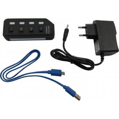 Мультипортовий адаптер Lapara LA-USB305 Diawest