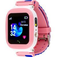 Розумний годинник AmiGo GO004 Splashproof Camera+LED Pink