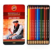 Олівці кольорові Koh-i-Noor Mondeluz акварельні 12 кольорів (3722) Diawest