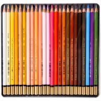 Олівці кольорові Koh-i-Noor Mondeluz Portrait акварельні 24 кольорів (3724024012) Diawest