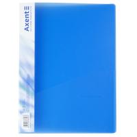 Папка-швидкозшивач Axent A4 700 мкм Прозора синя (1304-22-A) Diawest