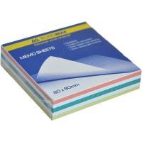 Папір для нотаток Buromax Zebra JOBMAX 80х80х20мм, glued (BM.2254) Diawest