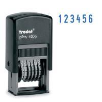 Нумератор Trodat 3.8 mm., 6- розрядів (Mini) (4836) Diawest