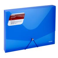 Папка на резинках Axent A4 800 мкм Transparent blue (1502-22-A) Diawest