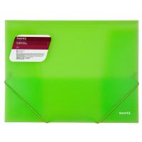 Папка на резинках Axent A4 600 мкм Transparent green (1501-26-A) Diawest