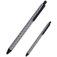 Ручка кулькова Axent Snake біла автоматична Синя 0.5 мм (AB1092-03-A) Diawest