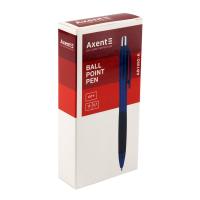 Ручка кулькова Axent City автоматична Синя 0.5 мм (AB1082-02-A) Diawest
