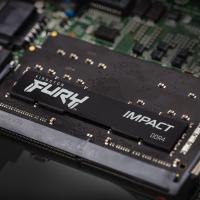 Модуль пам'яті для ноутбука SoDIMM DDR4 16GB (2x8GB) 3200 MHz Fury Impact HyperX (Kingston Fury) (KF432S20IBK2/16) Diawest