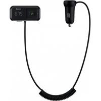 FM модулятор Baseus T typed S-16 MP3 Black (CCTM-E01) Diawest