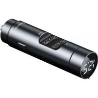 FM модулятор Baseus Energy Column MP3 Dark grey (CCNLZ-C0G) Diawest