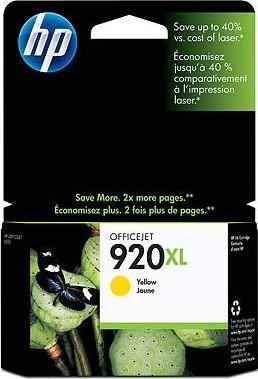 Картридж HP DJ No.920XL OJ 6500 yellow (CD974AE) Diawest