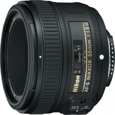 Об'єктив Nikon Nikkor AF-S 50mm f/1.8G (JAA015DA) Diawest