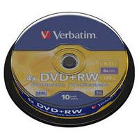 Диск Verbatim 4.7Gb 4x CakeBox 10 шт silver (43488)