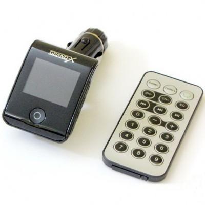 MP3-FM трансмитер Grand-X CUFM24GRX Black
