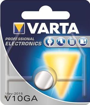 Батарейка Varta V10GA bat(1.5B) Alkaline 1шт (04274101401)