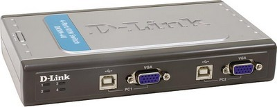 Коммутатор консолей (KVM Switches) D-Link DKVM-4U