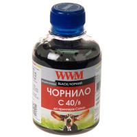 Чернила WWM CANON PG40/50/PGI5Bk, black (C40/B) Diawest
