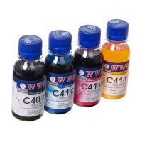 Чернила WWM CANON PG40B/CL41 В/C/M/Y Комплект (C40/41SET-2) Diawest