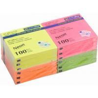 Папір для нотаток Buromax with adhesive layer 76х76мм, 12*100sheets, NEON colors (BM.2312-98) Diawest