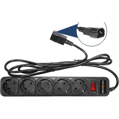 Сетевые фильтры, удлинители LogicPower LP-X5-UPS 3.0м, 0,75mm2, 10A (2754)