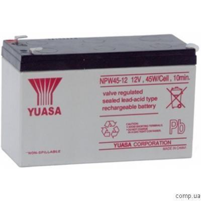 Аккумулятор для ИБП Yuasa NPW45-12 (12V, 9 Ah) (91010038)