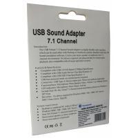 Звукова плата Dynamode USB 8(7.1) каналов 3D RTL (USB-SOUND7-WHITE) Diawest