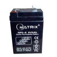 Аккумулятор для ИБП Matrix 6V 5AH (NP5-6)
