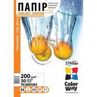 Бумага для принтера/копира ColorWay A4 (PG200050A4)