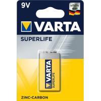 Батарейка Varta 6F22 Superlife Zinc-Carbon (2022101411)