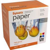 Бумага для принтера/копира ColorWay 10x15 (PG2305004R)