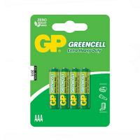 Батарейка AAA R03 солевая * 4 (GP24G-U4/GP24G-2UE4)