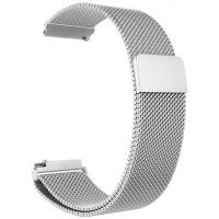 Ремінец до смарт годинах і браслетів for Samsung Gear S3/Galaxy Watch Silver